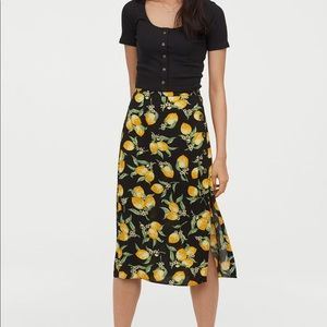 Lemon Midi Skirt